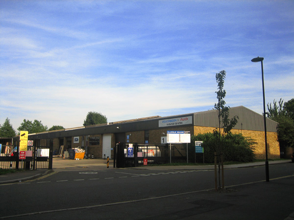 Ellerslie Square Industrial Estate, London