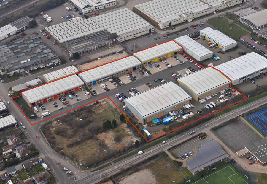 Scott Road Industrial Estate, Luton