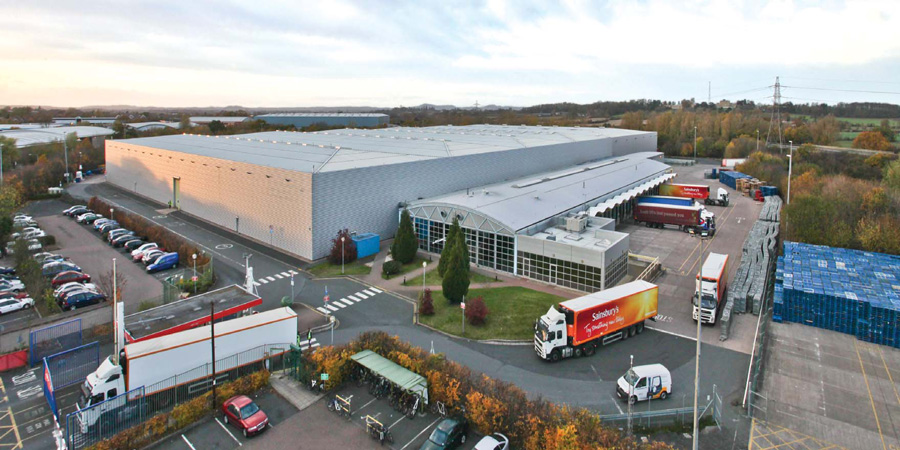 Sainsbury Distribution Warehouse, Worcester