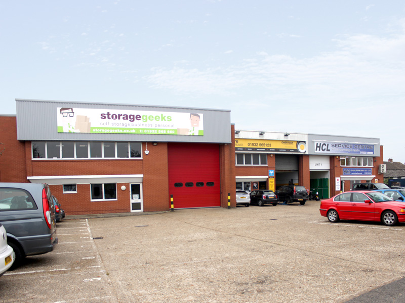 Units 1-3 Fordwater Industrial Estate, Chertsey
