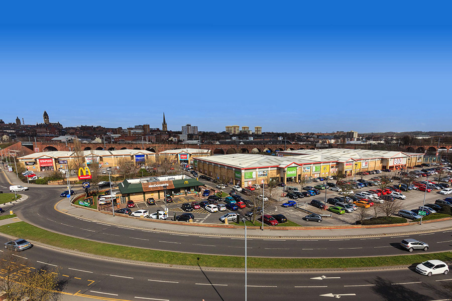 Cathedral Retail Park, Wakefield