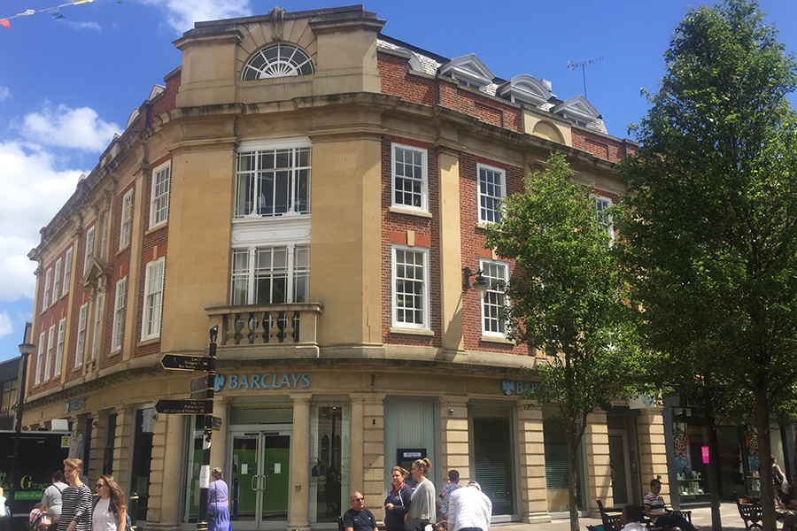 Barclays Bank PLC, 54 High Street, Worcester